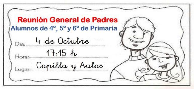 Reunión Padres Primaria