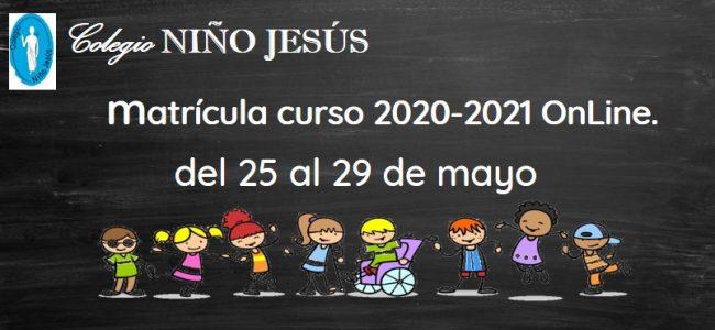 Matrícula 2020-2021 (OnLine)
