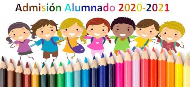 Admisión 2020-2021
